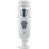 Telescopic Lover Automatic Stroker - White - Godfather Adult Sex and Pleasure Toys