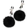 Fetish Fantasy Limited Edition Pom Pom Nipple Clamps - Godfather Adult Sex and Pleasure Toys
