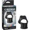 Fantasy C-Ringz Rock Hard Ring & Ball-Stretcher - Black - Godfather Adult Sex and Pleasure Toys