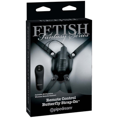 Fetish Fantasy Limited Edition Remote Control Butterfly Strap-On - Godfather Adult Sex and Pleasure Toys