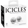Icicles No.41 Glass Ben Wa Balls - Small - Godfather Adult Sex and Pleasure Toys