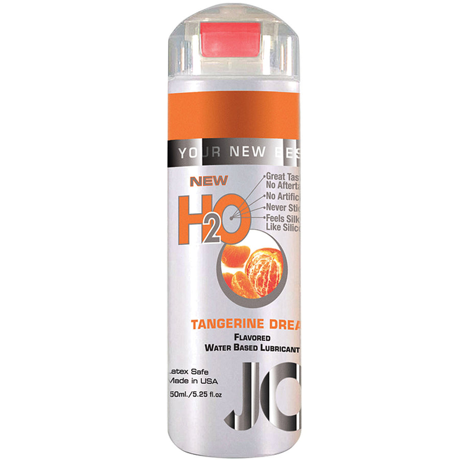 JO Flavored H2o-Tangerine Dream 5.25oz - Godfather Adult Sex and Pleasure Toys