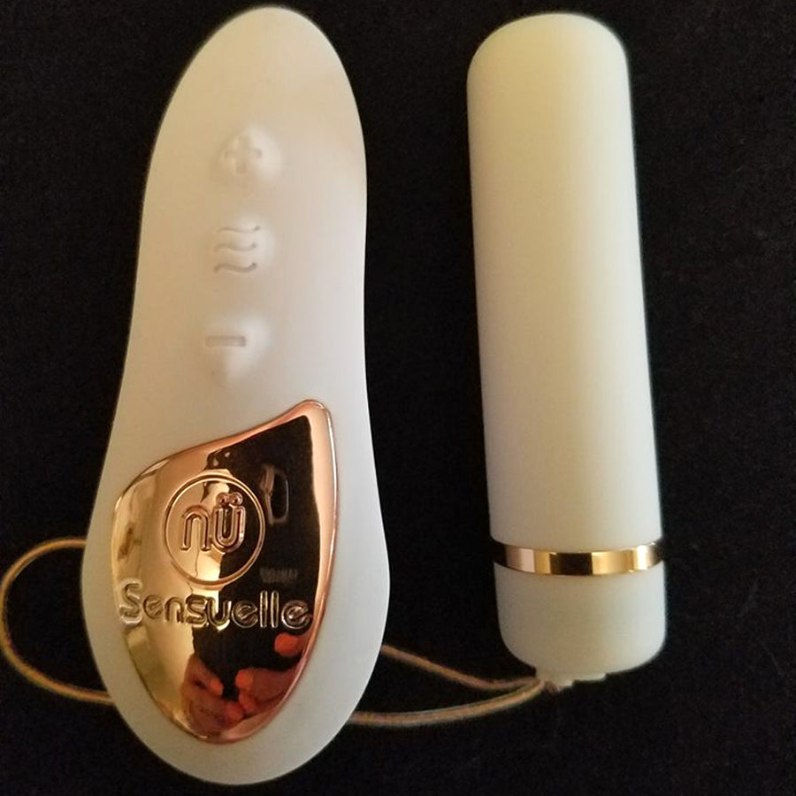NU Sensuelle Remote Control Pleasure Panty-White
