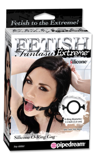 Fetish Fantasy Extreme Silicone O-Ring Gag - Godfather Adult Sex and Pleasure Toys