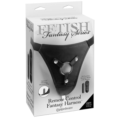 Fetish Fantasy Series Remote Control Fantasy Harness - Godfather Adult Sex and Pleasure Toys