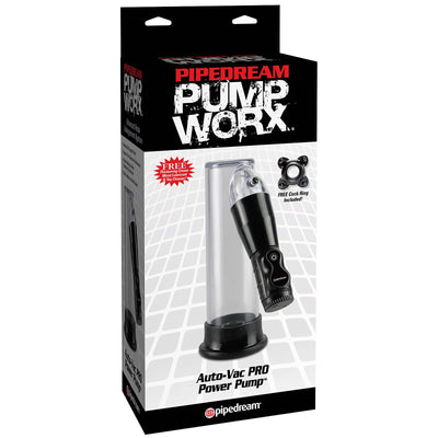 Pump Worx Auto-Vac Pro Power Pump - Godfather Adult Sex and Pleasure Toys