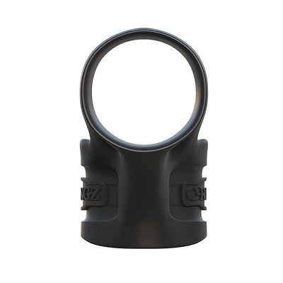Fantasy C-Ringz Mr. Big Cock Ring And Ball Stretcher Black - Godfather Adult Sex and Pleasure Toys