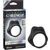 Fantasy C-Ringz Rock Hard Ring Black - Godfather Adult Sex and Pleasure Toys