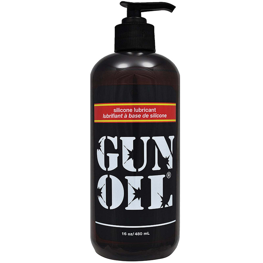 Gun Oil Silicone 16oz / 473ml - Godfather Adult Sex and Pleasure Toys