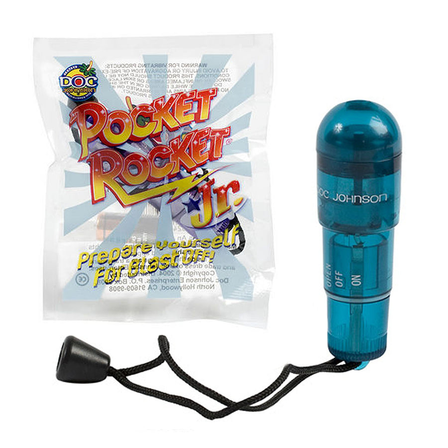 Pocket Rocket Jr. Blue - Godfather Adult Sex and Pleasure Toys
