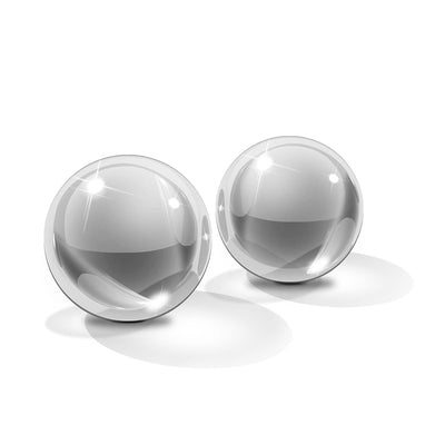 "Icicles No.42-Ben Wa Balls - Clear Medium 1.2"" - Godfather Adult Sex and Pleasure Toys"