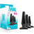 Anal Adventures Basic Plug Kit - Black