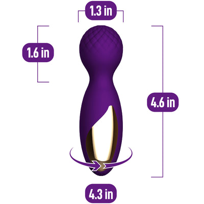 Bliss Mini Wand - Violet