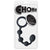 "Choke Silicone Butt Beads 7""-Black"