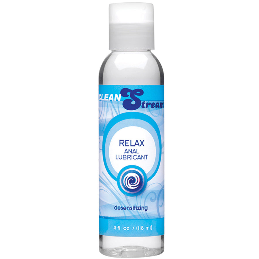 Clean Stream Relax Desensitizing Anal Lube 4oz