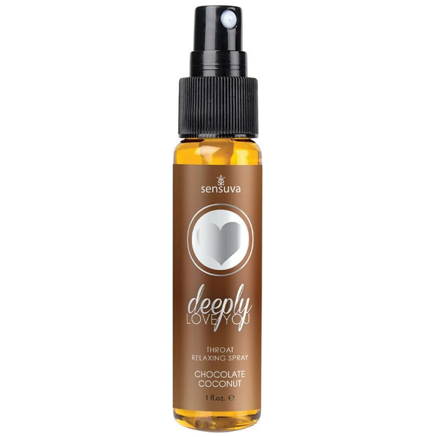 Deeply Love You Throat Relaxing Spray - Chocolate Coconut 1oz
