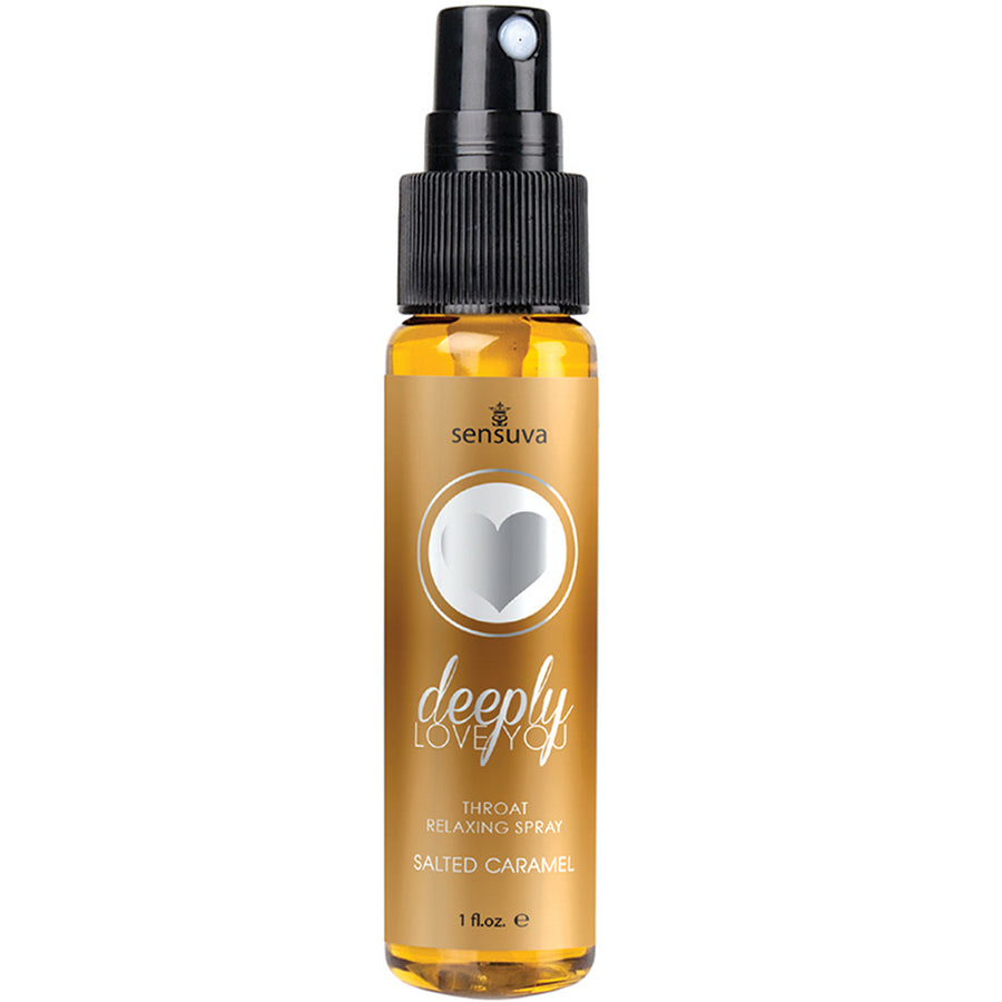 Deeply Love You Throat Relaxing Spray - Salted Caramel 1oz