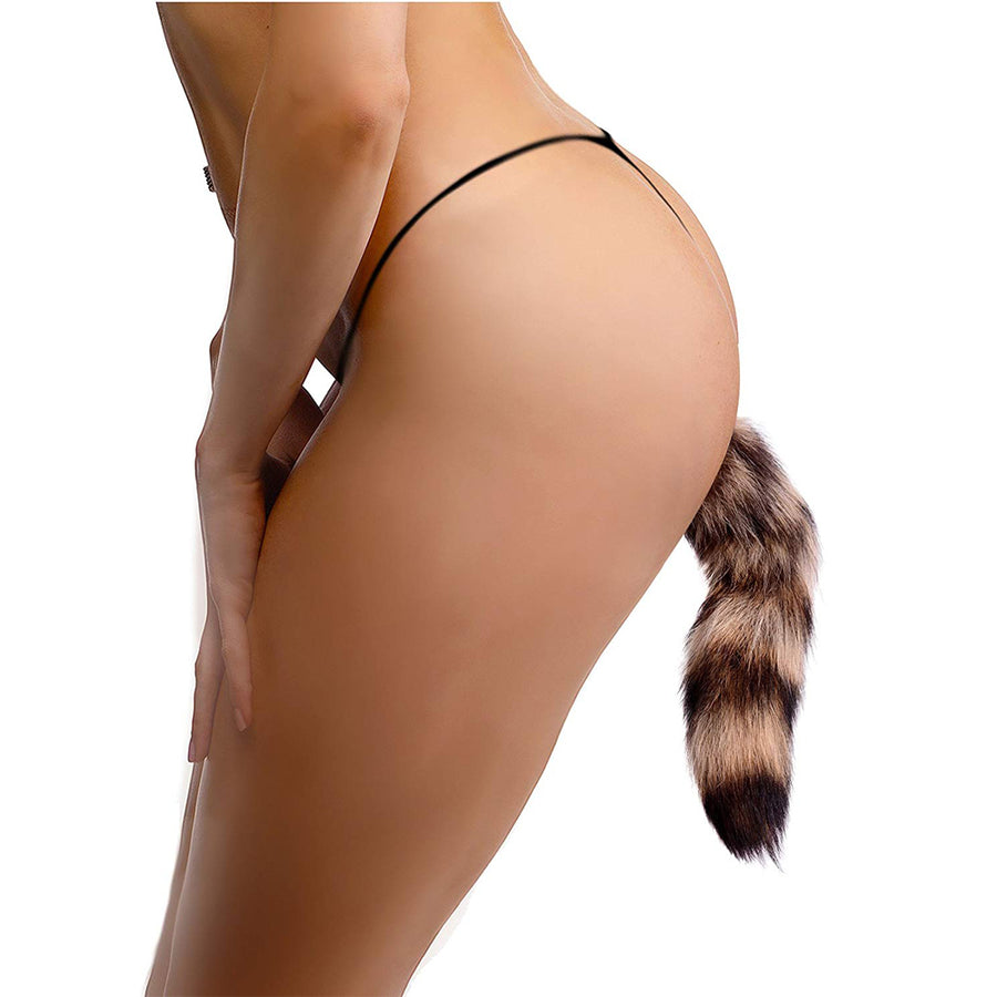 Tailz Fox Tail Anal Plug-Glass