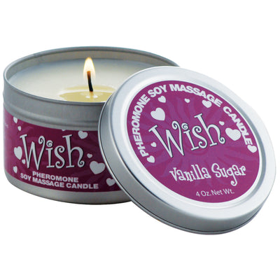 Scandal Candles-Vanilla Sugar Wish 4oz