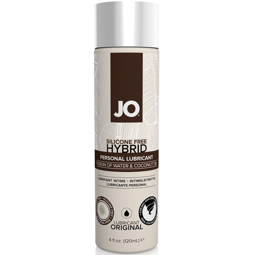 JO Hybrid Silicone Free With Coconut-Original 4oz - Godfather Adult Sex and Pleasure Toys