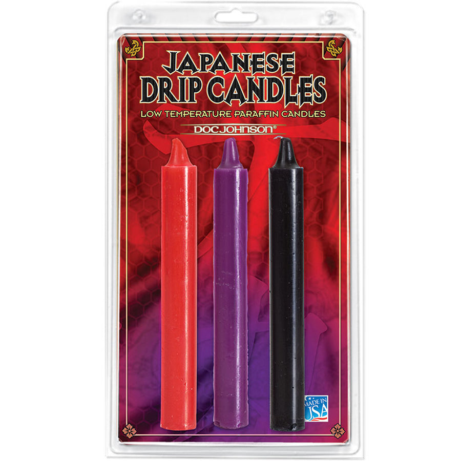 Japanese Drip Candles (3 Pack)