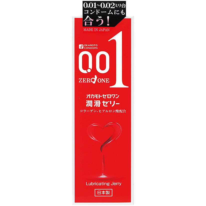 Okamoto 001 Lubricating Jelly 50g - Godfather Adult Sex and Pleasure Toys