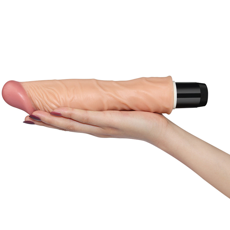"Real Feel Flexi Cock 9.8""-Flesh"