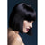 "Lola Wig Blunt Cut Bob With Fringe - 12"" Black"