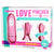 Love Pincher Vibrating Nipple Clamps - Pink