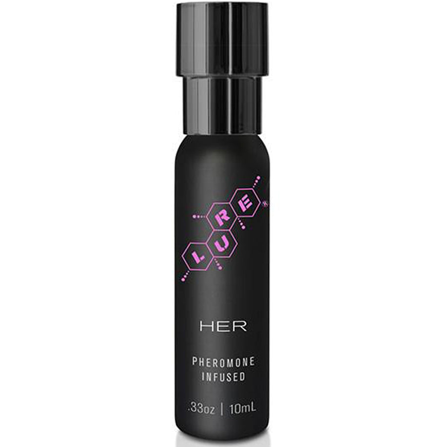 Lure Black Label For Her Pheromone Personal Scent 0.33oz