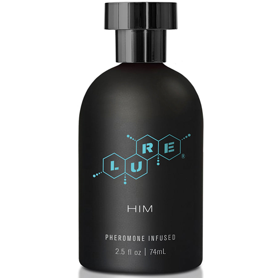 Lure Black Label For Him Pheromone Personal Scent 2.5oz