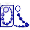 Blush Novelties - Luxe Silicone 10 Beads - Indigo