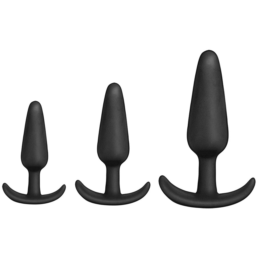 Mood Naughty 1 Silicone Trainer Set-Black
