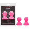 Cal Exotics - Nipple Play Silicone Pro Nipple Suckers-Pink