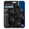 Blush Novelties - Performance Silicone Anal Beads - Black
