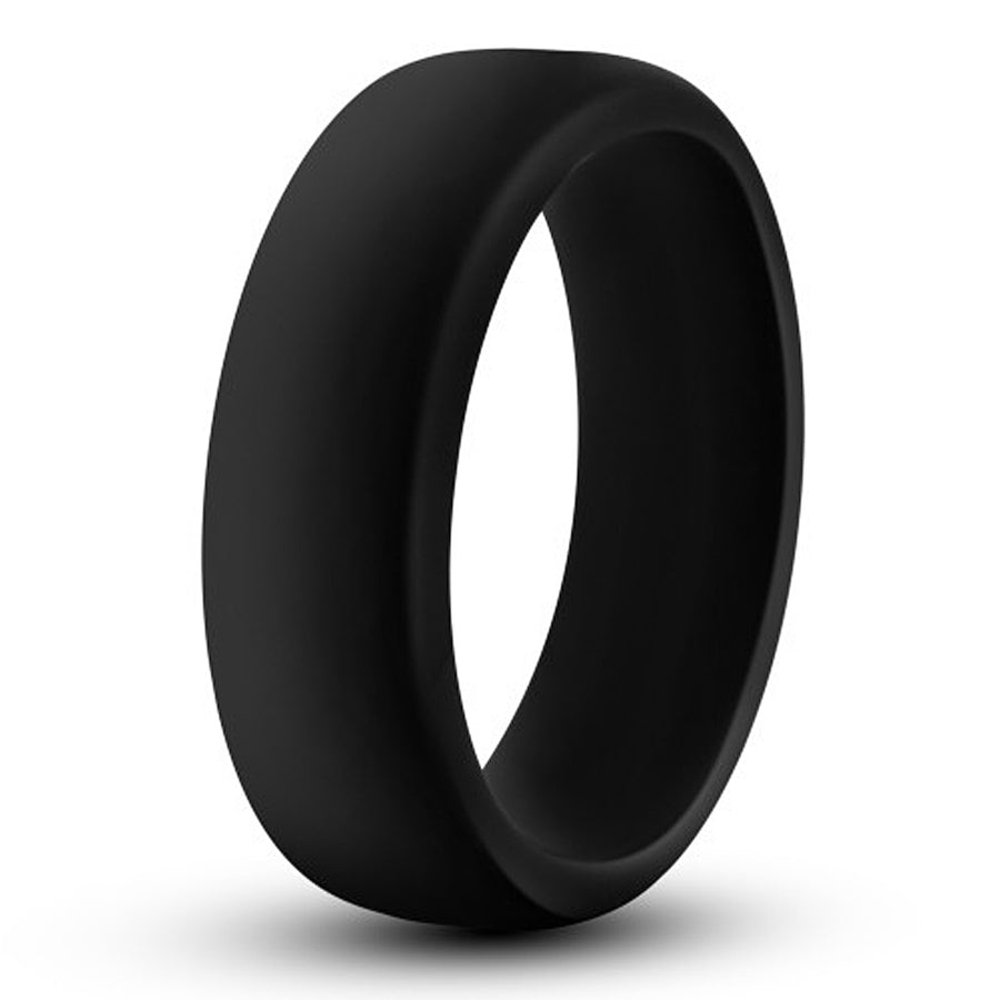 Performance Silicone Go Pro Cock Ring - Black