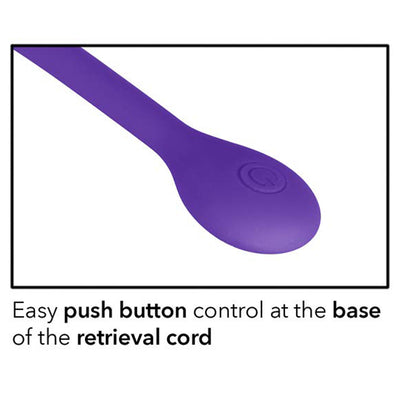 Cal Exotics - Rechargeable Dual Kegel - Purple