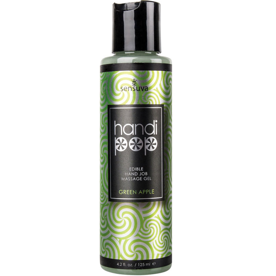 Handi-Pop Hand Job Massage Gel-Green Apple 4.2oz