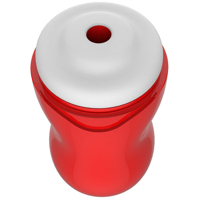 SHAKE Stamina Training Cup-Realistic (Red) - Godfather Adult Sex and Pleasure Toys