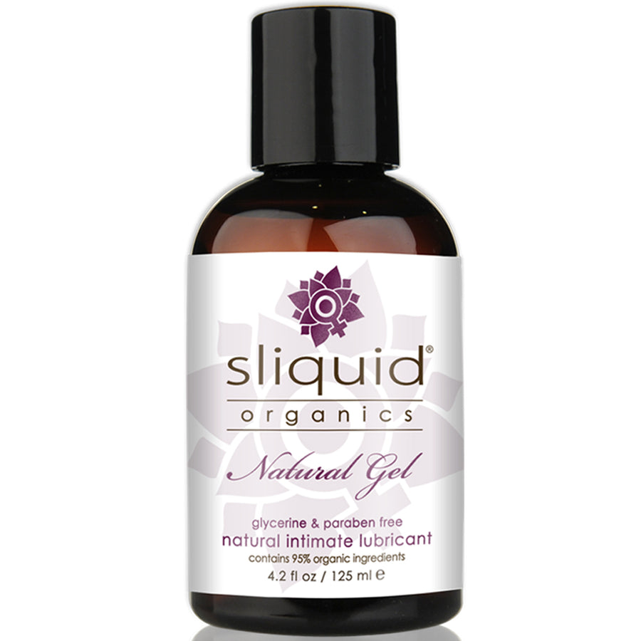 Sliquid Organics Natural Gel 4.2oz - Godfather Adult Sex and Pleasure Toys
