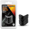 "Stay Hard Beef Ball Stretcher Snug X Long - 1"" Black"