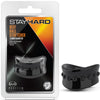 "Stay Hard Beef Ball Stretcher - 1.5"" Black"