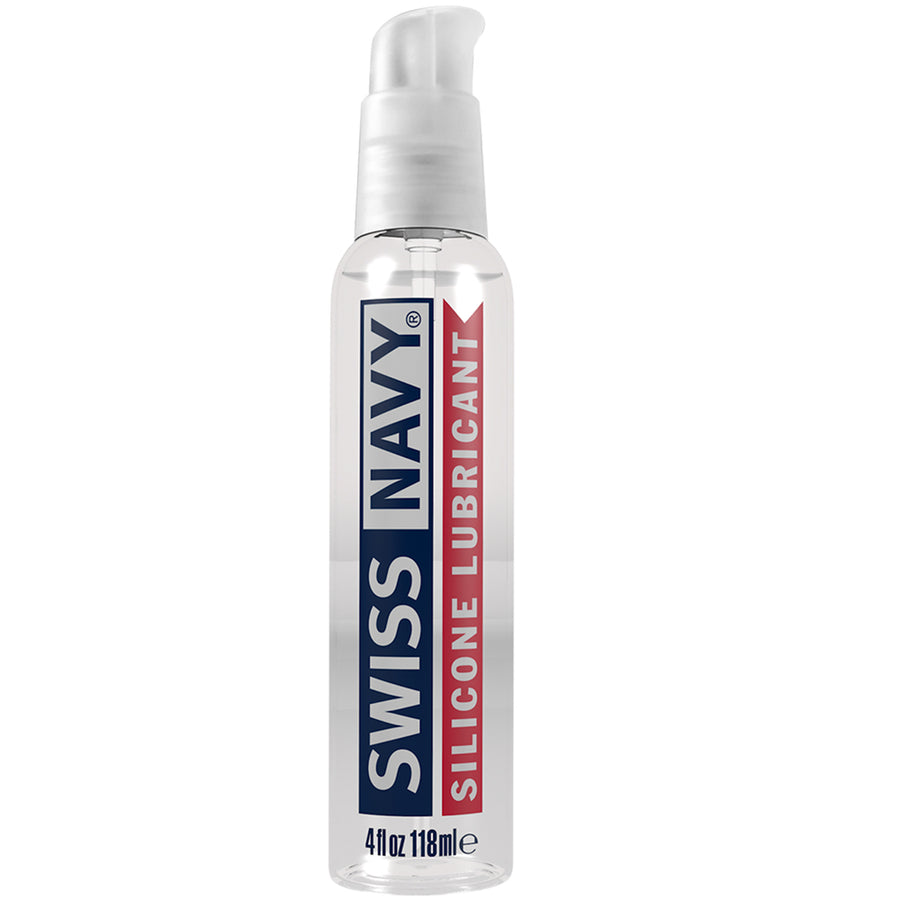 Swiss Navy Silicone Lube 4oz
