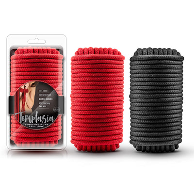 Temptasia Bondage Rope - 32 Feet Red