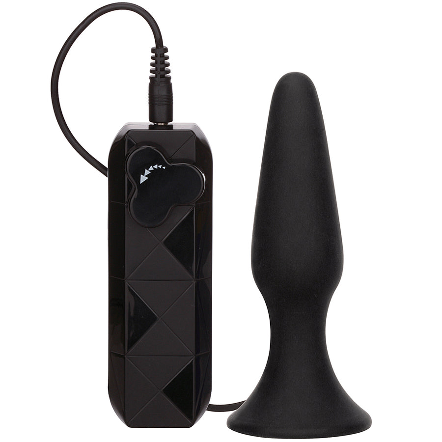 Thriller Ass Vibrating Butt Plug 4.5""
