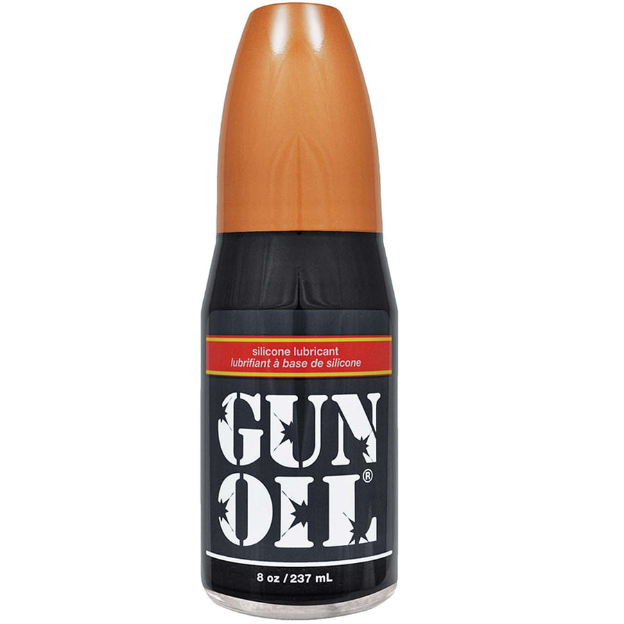 Gun Oil Silicone 8oz - Godfather Adult Sex and Pleasure Toys