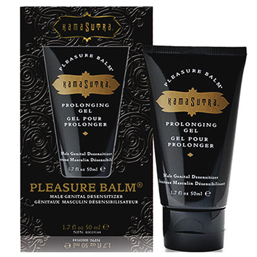 Kama Sutra Pleasure Balm Prolonging Gel 1.7oz - Godfather Adult Sex and Pleasure Toys