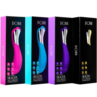 Dorr Silker G-Spot Curved - Black - Godfather Adult Sex and Pleasure Toys