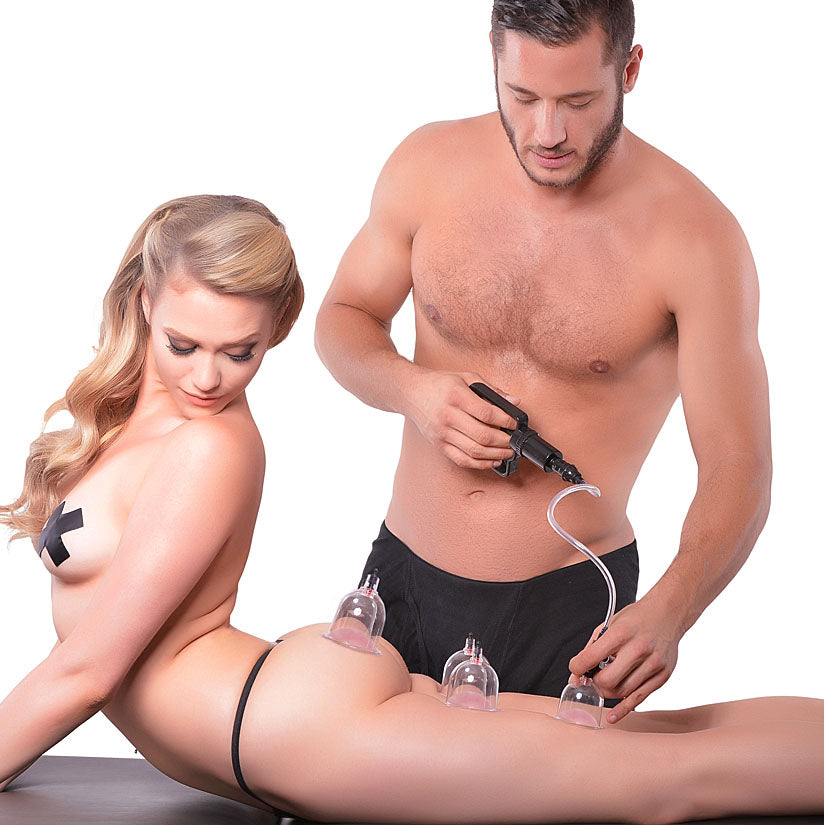 Fetish Fantasy Series Beginner's 6pc Cupping Set - Godfather Adult Sex and Pleasure Toys