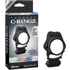 Fantasy C-Ringz Rock Hard Vibrating Ring - Black - Godfather Adult Sex and Pleasure Toys